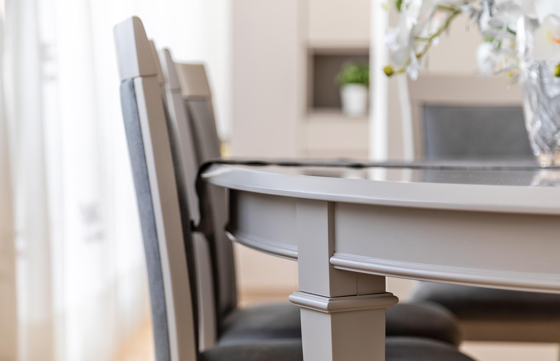 Lacado mesa comedor