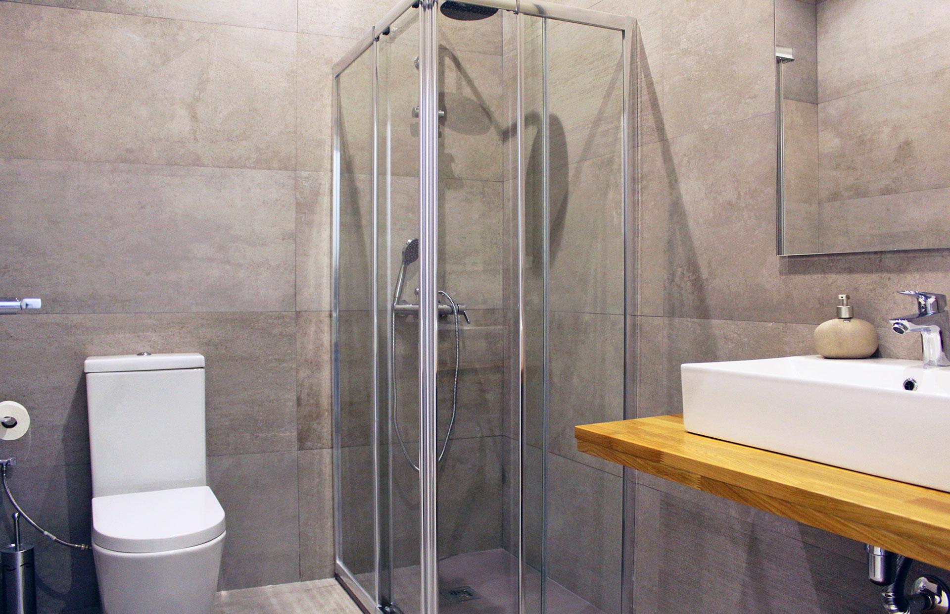 reforma baño local comercial